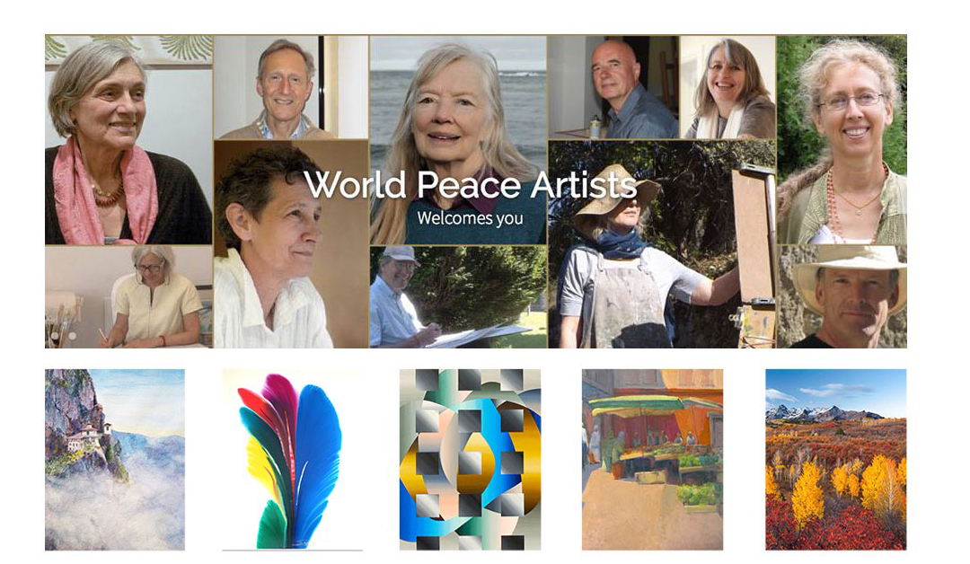 Support the Arts. Create World Peace. Discover World Peace Artists